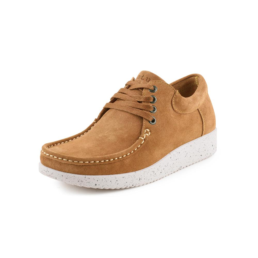 Nature Anna Suede WR 1001-022-025 sko toffee-Nature-Hoofers - We love shoes