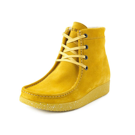 Nature Asta Suede 1005-119-155 støvle saffron-Nature-Hoofers - We love shoes