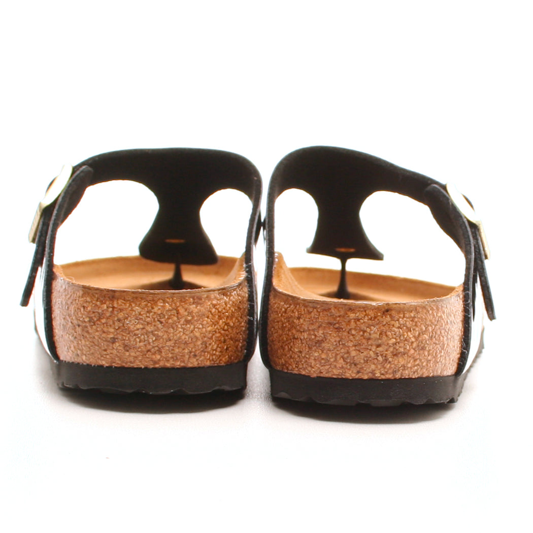 Birkenstock Gizeh sandal sort-Birkenstock-Hoofers - We love shoes