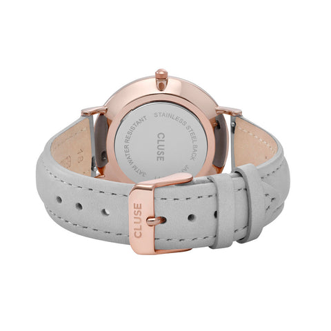 Cluse La Bohème Rose Gold White/Grey