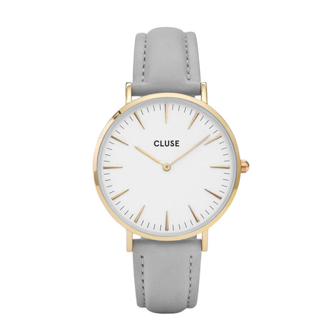 Cluse La Bohème Gold White/Grey