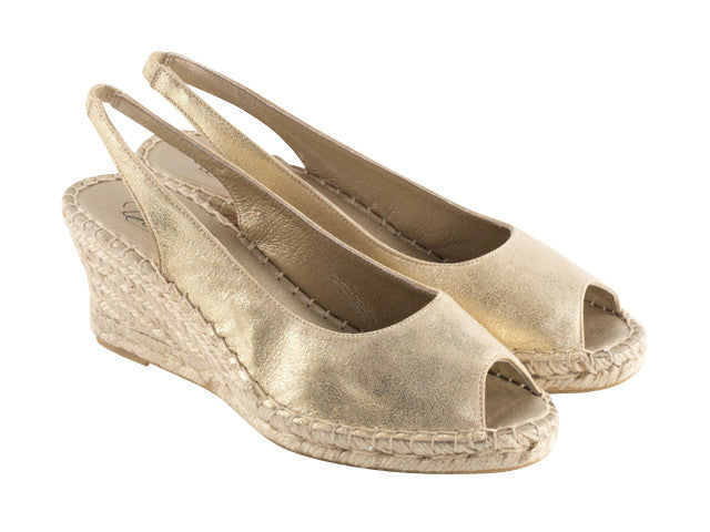 DEBBIE metallic gold 10548