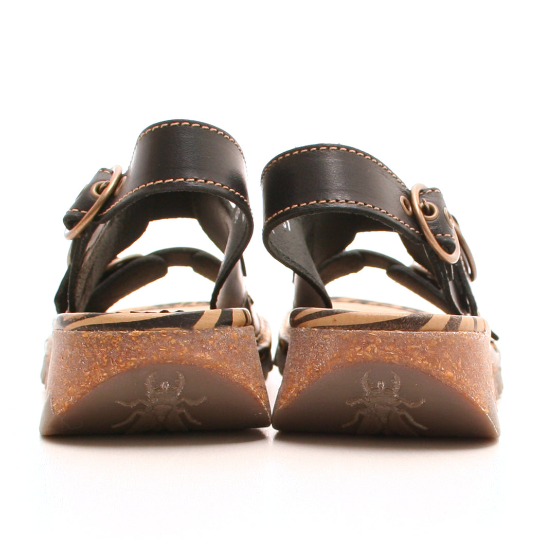 Fly London Tear sandal sort-FLY London-Hoofers - We love shoes