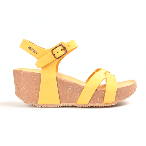 Bionatura 24 Fregene IMB sandal gul-BioNatura-Hoofers - We love shoes