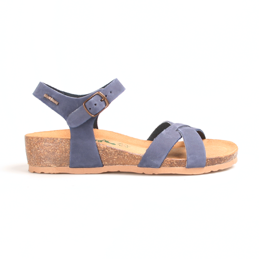 Bionatura 12 Fregene IMB sandal navy-BioNatura-Hoofers - We love shoes