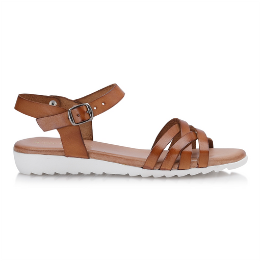Shoe Biz Gaelle sandal cognac-Shoe Biz-Hoofers - We love shoes