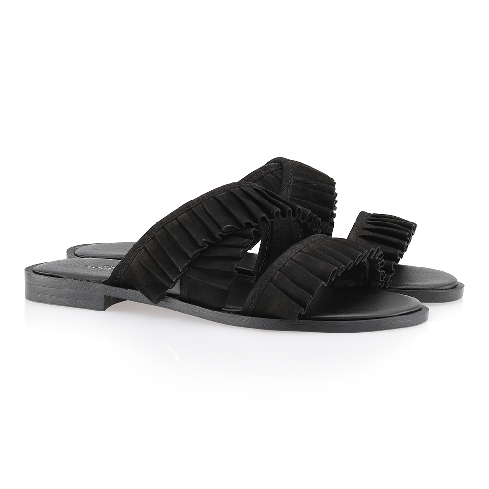 Shoe Biz Halida sandal sort-Shoe Biz-Hoofers - We love shoes