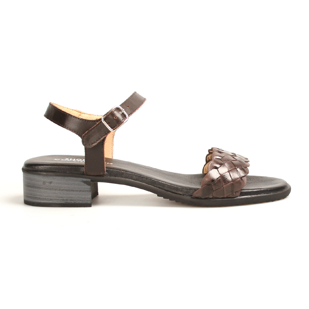 Shoe Biz Hallie sandal brun-Shoe Biz-Hoofers - We love shoes