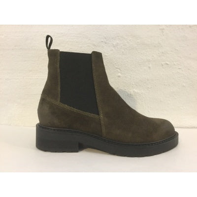 Pavement Jemma Wool 18414-120 støvle green-Pavement-Hoofers - We love shoes