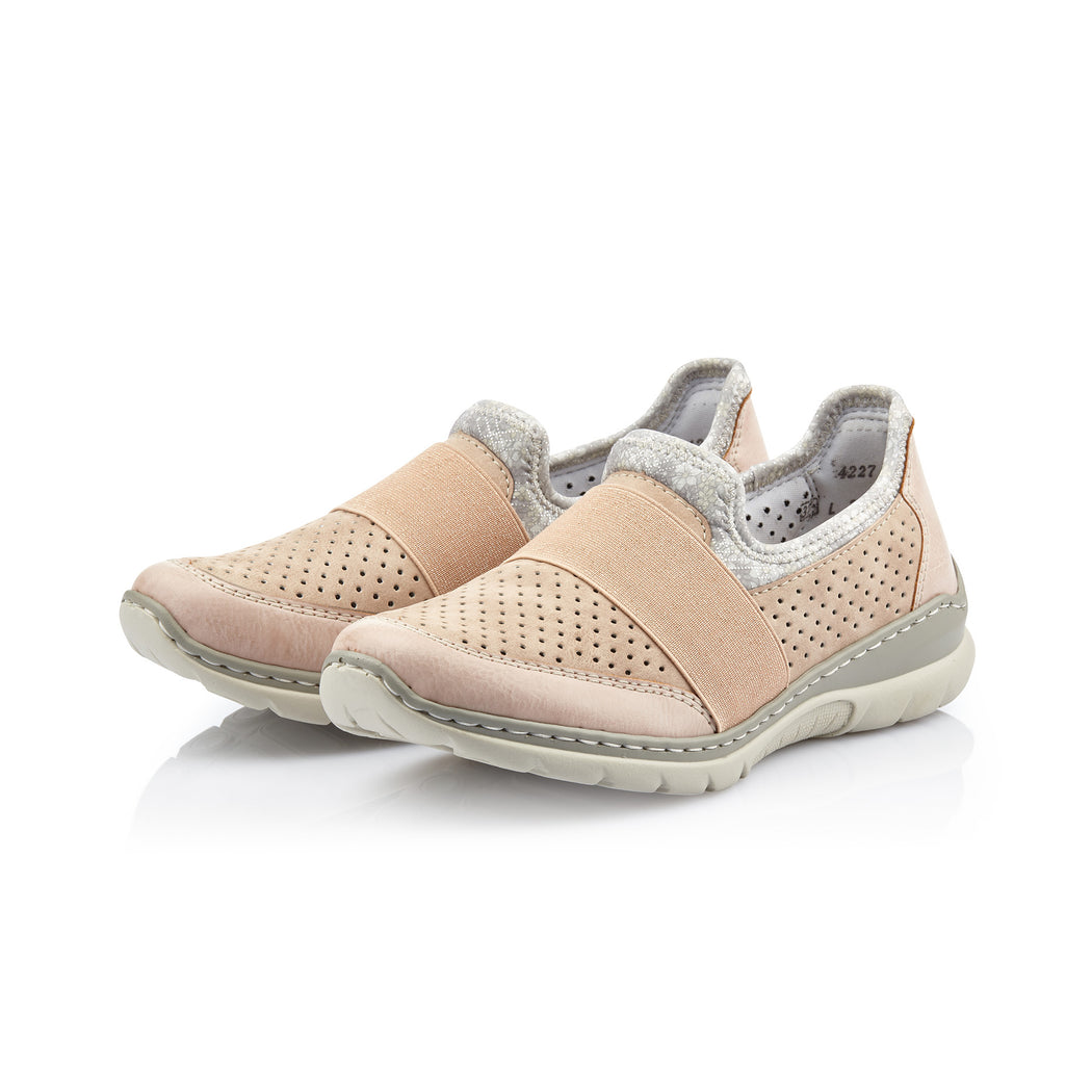 Rieker L32V2-31 sneakers rosa-Rieker-Hoofers - We love shoes
