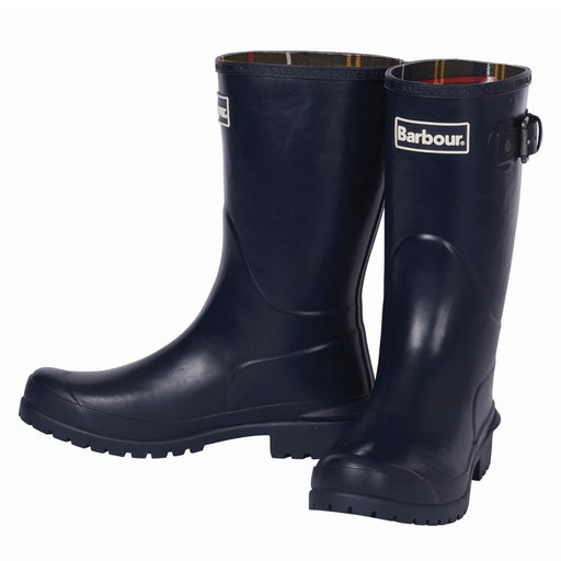 Barbour Primose gummistøvle navy-Barbour-Hoofers - We love shoes