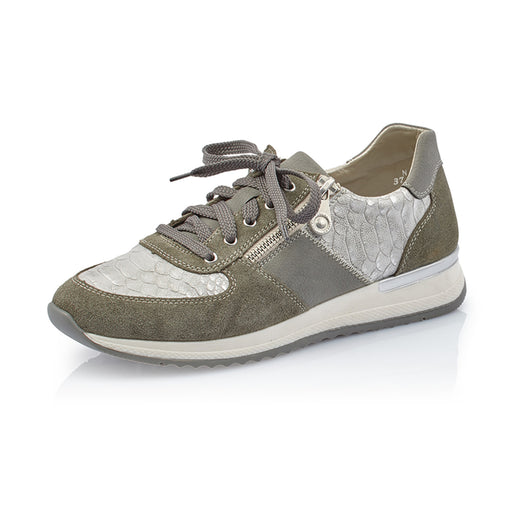 bd60aa0ad523 Rieker N7022-54 sneakers grøn-Rieker-Hoofers - We love shoes