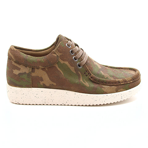 Nature Anna Suede Print Camouflage