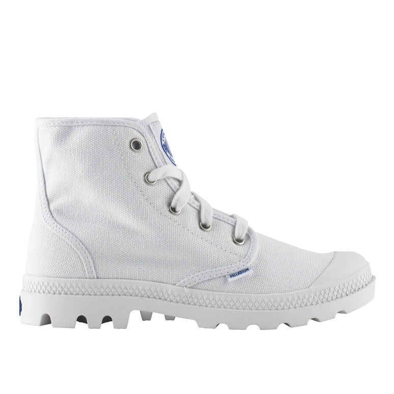 Palladium Pampa Hi støvle hvid-Palladium-Hoofers - We love shoes