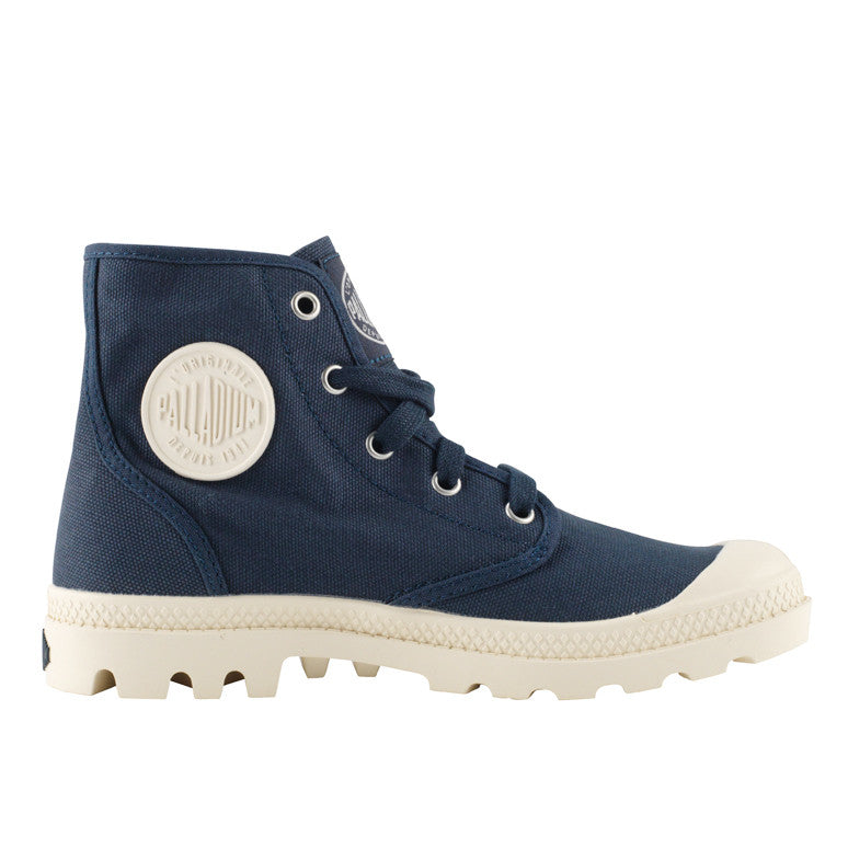 Palladium Pampa Hi støvle blå-Palladium-Hoofers - We love shoes