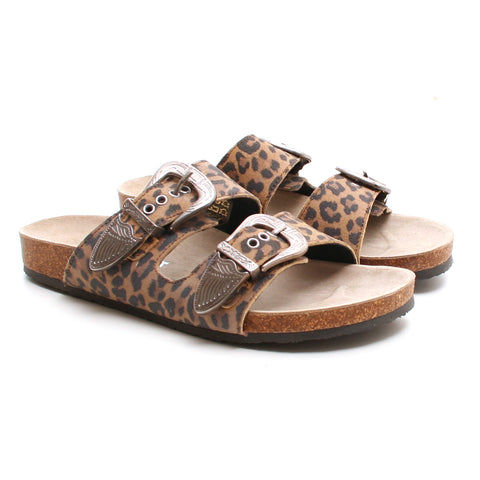 Pavement Matilde Rock sandal leopard
