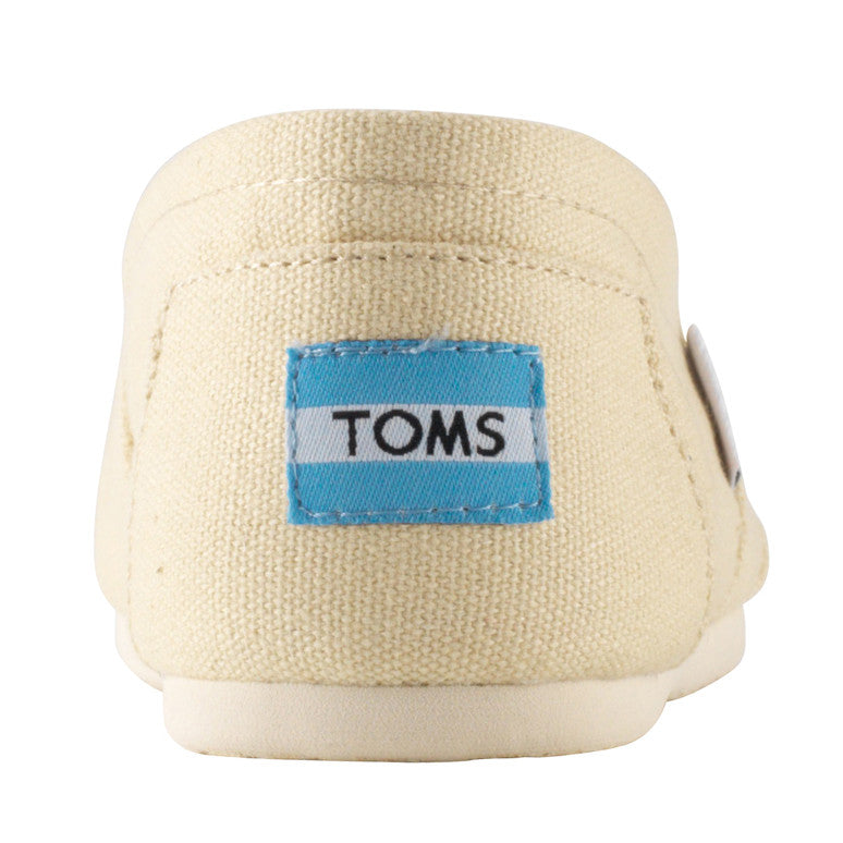 Toms Classic Natural Canvas