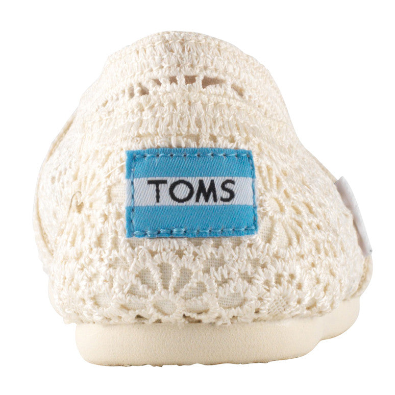 Toms Classic Natural Morocco Crochet
