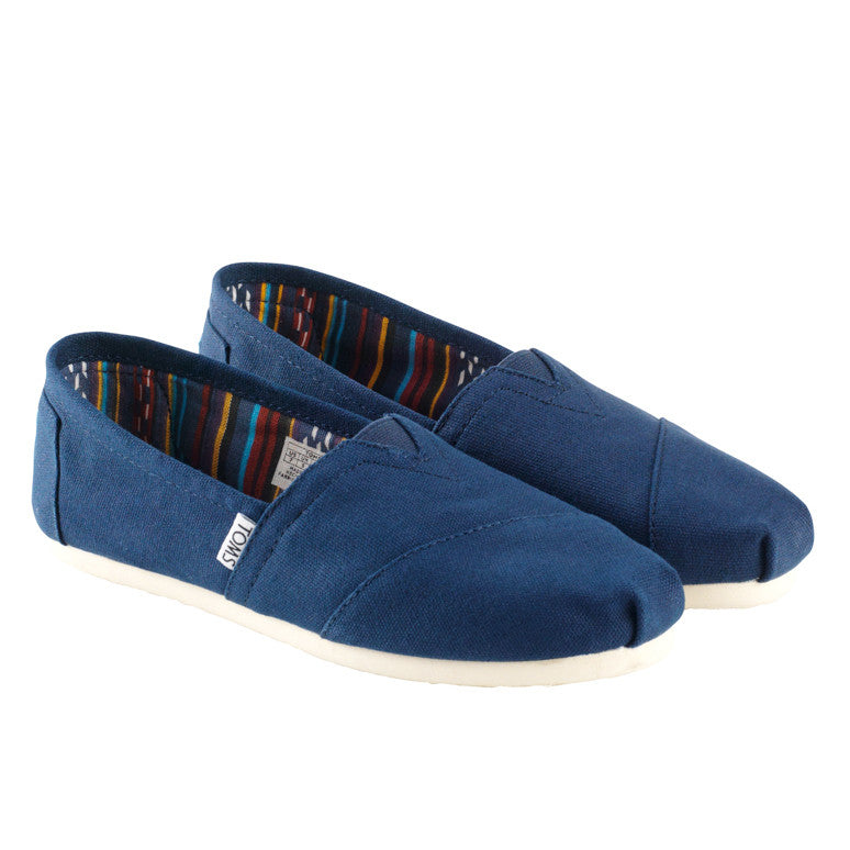 Toms Classic Navy Canvas