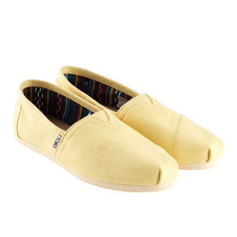 Toms Classic Yellow Canvas