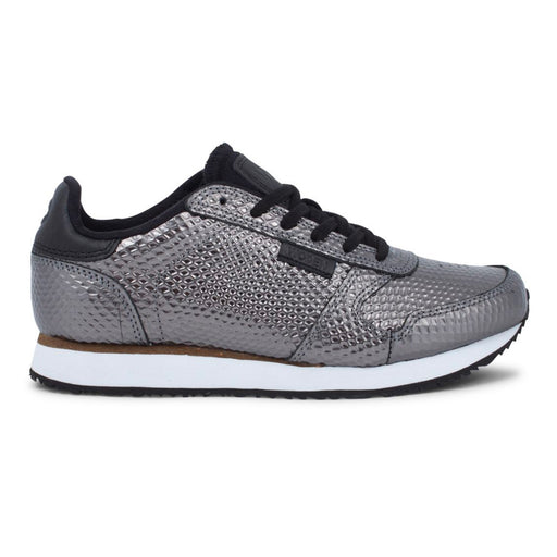 Woden WL021-047 Ydun Metalic sneakers grå-Woden-Hoofers - We love shoes