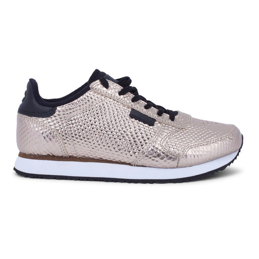 Woden WL021-400 Ydun Metallic sneakers champagne-Woden-Hoofers - We love shoes