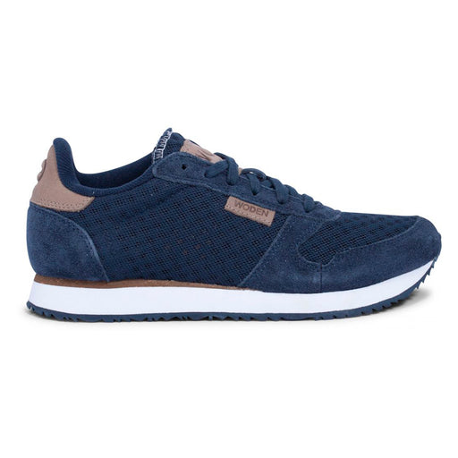 Woden WL028-010 Ydun Suede Mesh sneakers navy-Woden-Hoofers - We love shoes