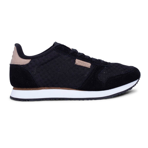 Woden WL028-020 Ydun Suede Mesh sneakers sort-Woden-Hoofers - We love shoes