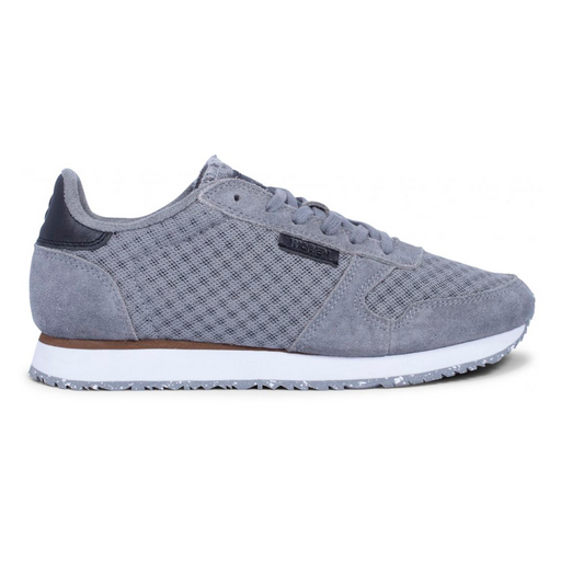 Woden WL028-040 Ydun Suede Mesh sneakers grå-Woden-Hoofers - We love shoes