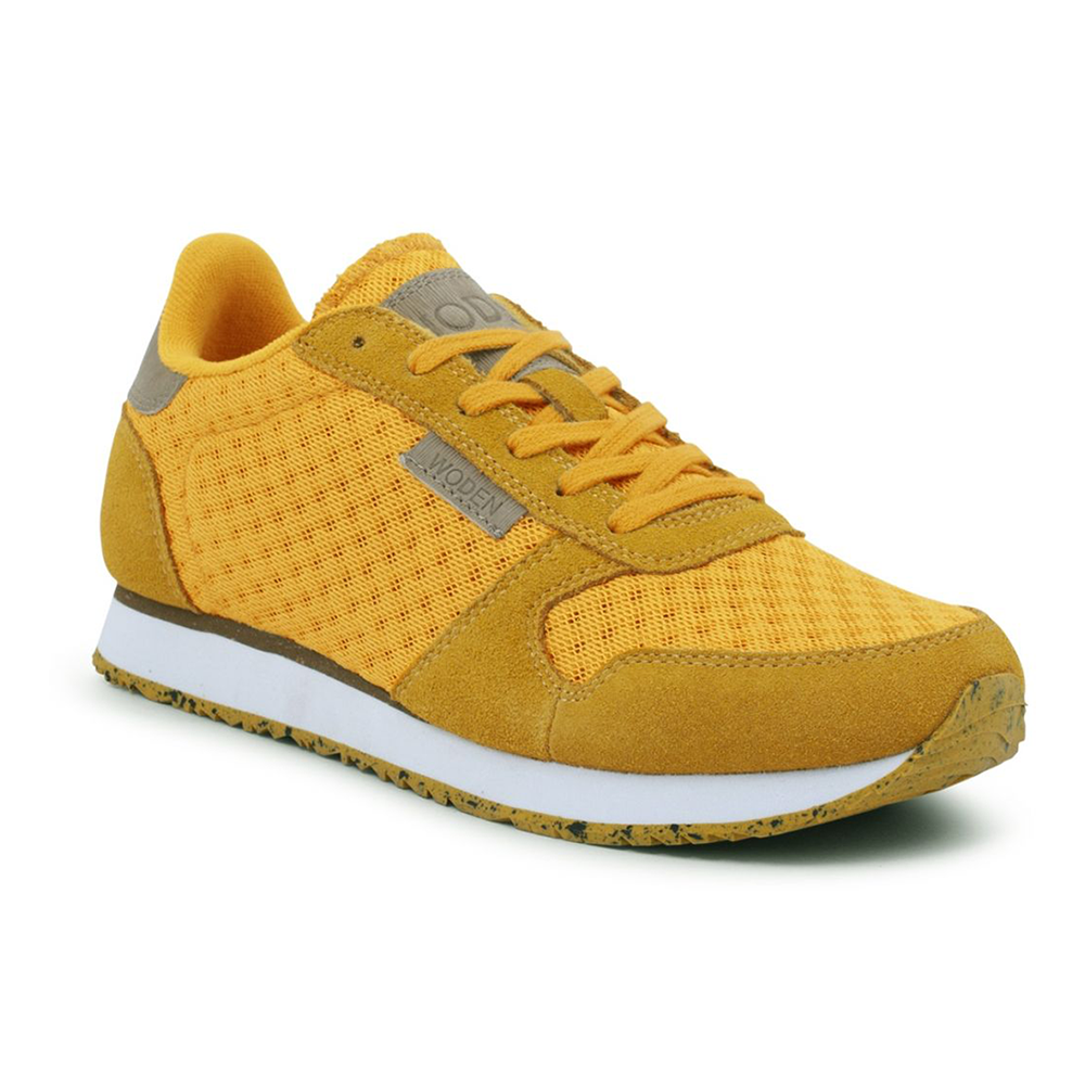 Woden WL028-096 Ydun Suede Mesh sneakers mango-Woden-Hoofers - We love shoes