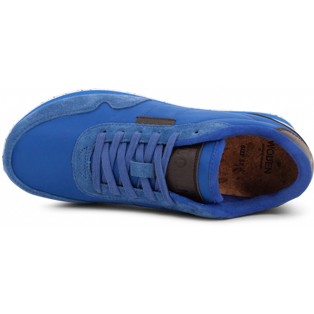 Woden WL159-604 Nora II sneakers royal blue-Woden-Hoofers - We love shoes
