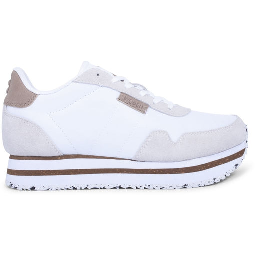 Woden WL1750-300 Nora II Plateau sneakers white-Woden-Hoofers - We love shoes