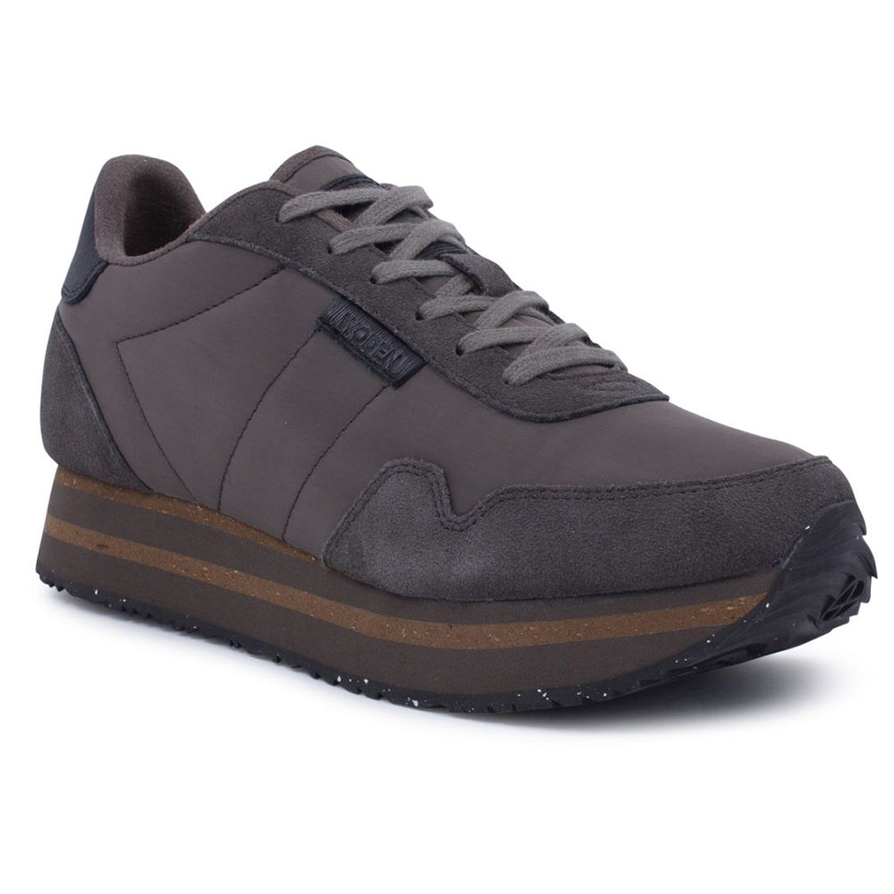 Woden WL1750-582 Nora II Plateau sneakers brown clay-Woden-Hoofers - We love shoes