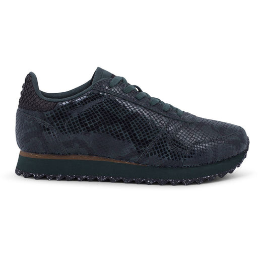 Woden WL410-354 Ydun Snake sneakers green gables-Woden-Hoofers - We love shoes