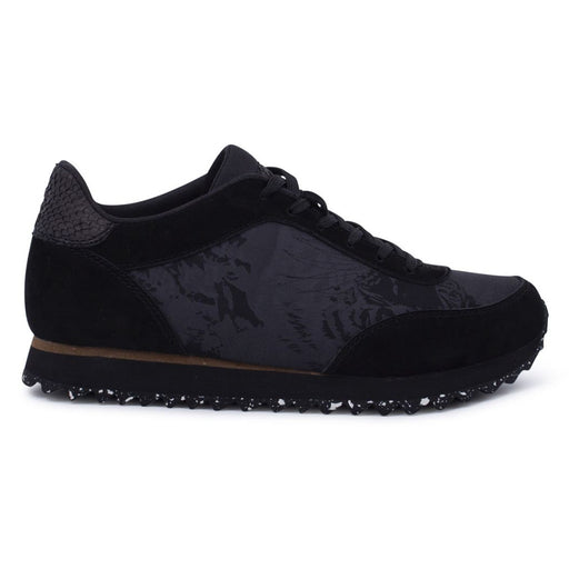 Woden WL8006-020 Nynne Jacquard sneakers black-Woden-Hoofers - We love shoes