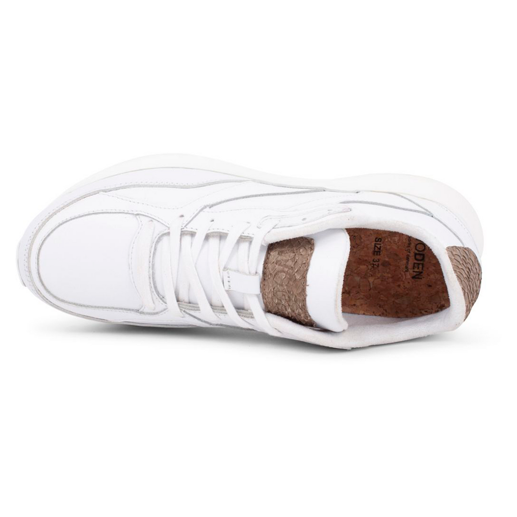 Woden WL844-300 Sophie Leather sneakers hvid-Woden-Hoofers - We love shoes