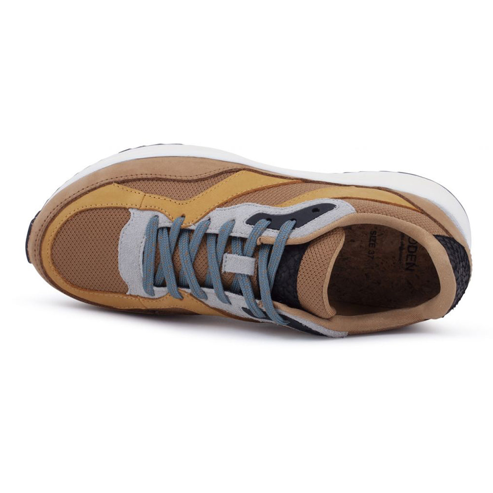 Woden WL8450-073 Sophie Nubuck sneakers cinnamon-Woden-Hoofers - We love shoes