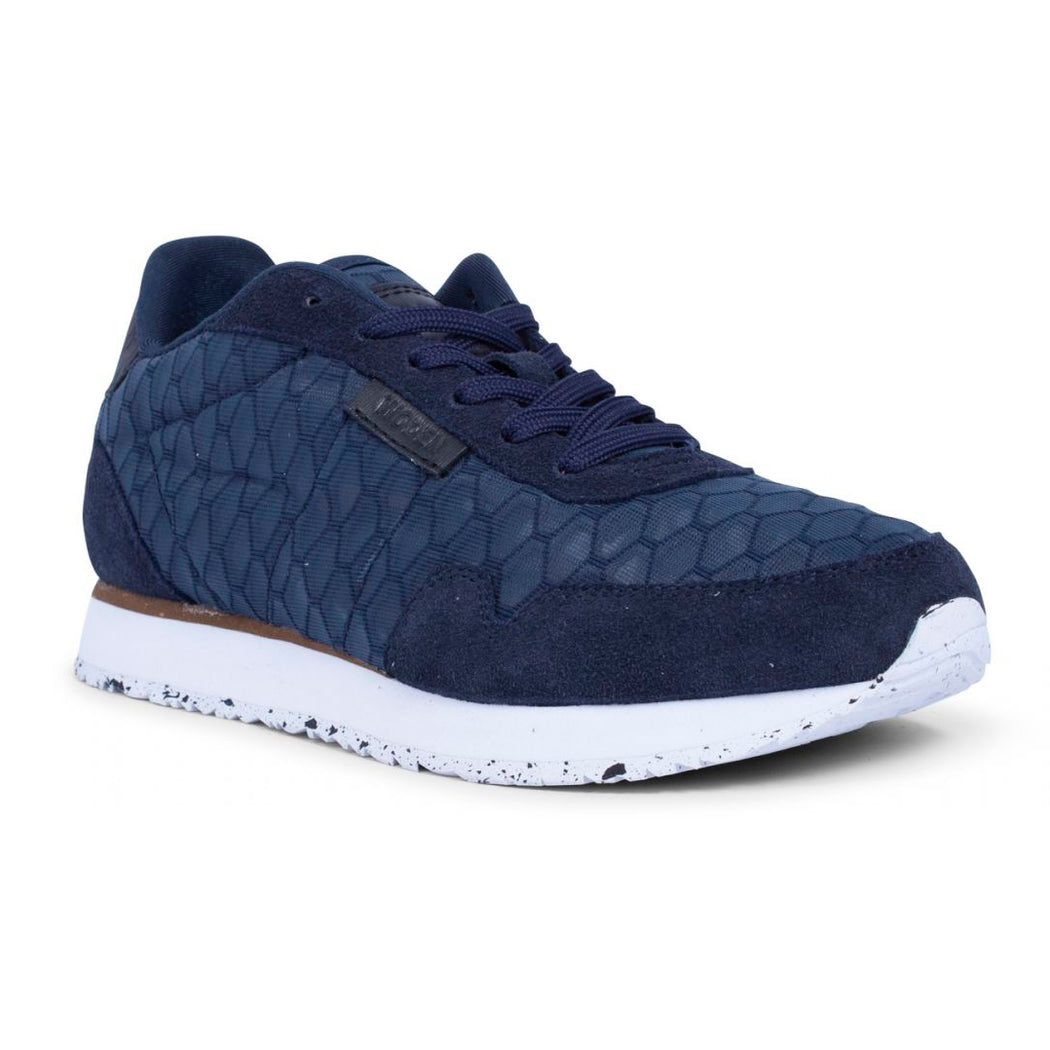 Woden WL869-010 Nora II Mesh sneakers navy-Woden-Hoofers - We love shoes