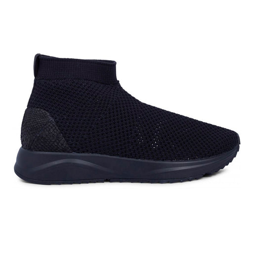 Woden WL872-020 Elin Mesh støvle sort-Woden-Hoofers - We love shoes