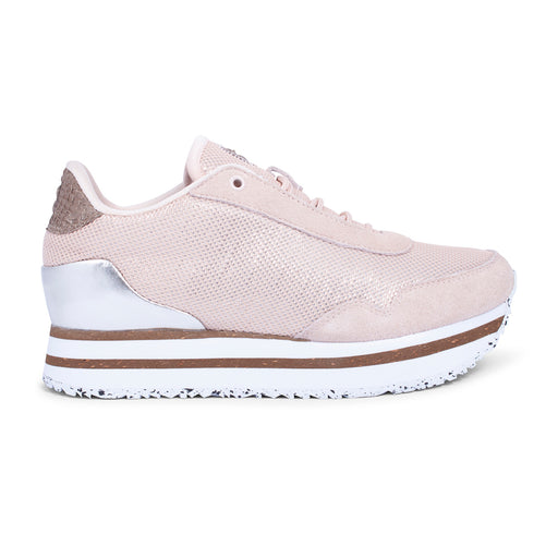 Woden WL895-008 Ella Mesh sneakers rosa-Woden-Hoofers - We love shoes