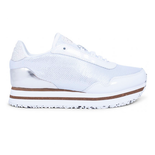 Woden WL897-300 Ella Patent Mesh sneakers hvid-Woden-Hoofers - We love shoes