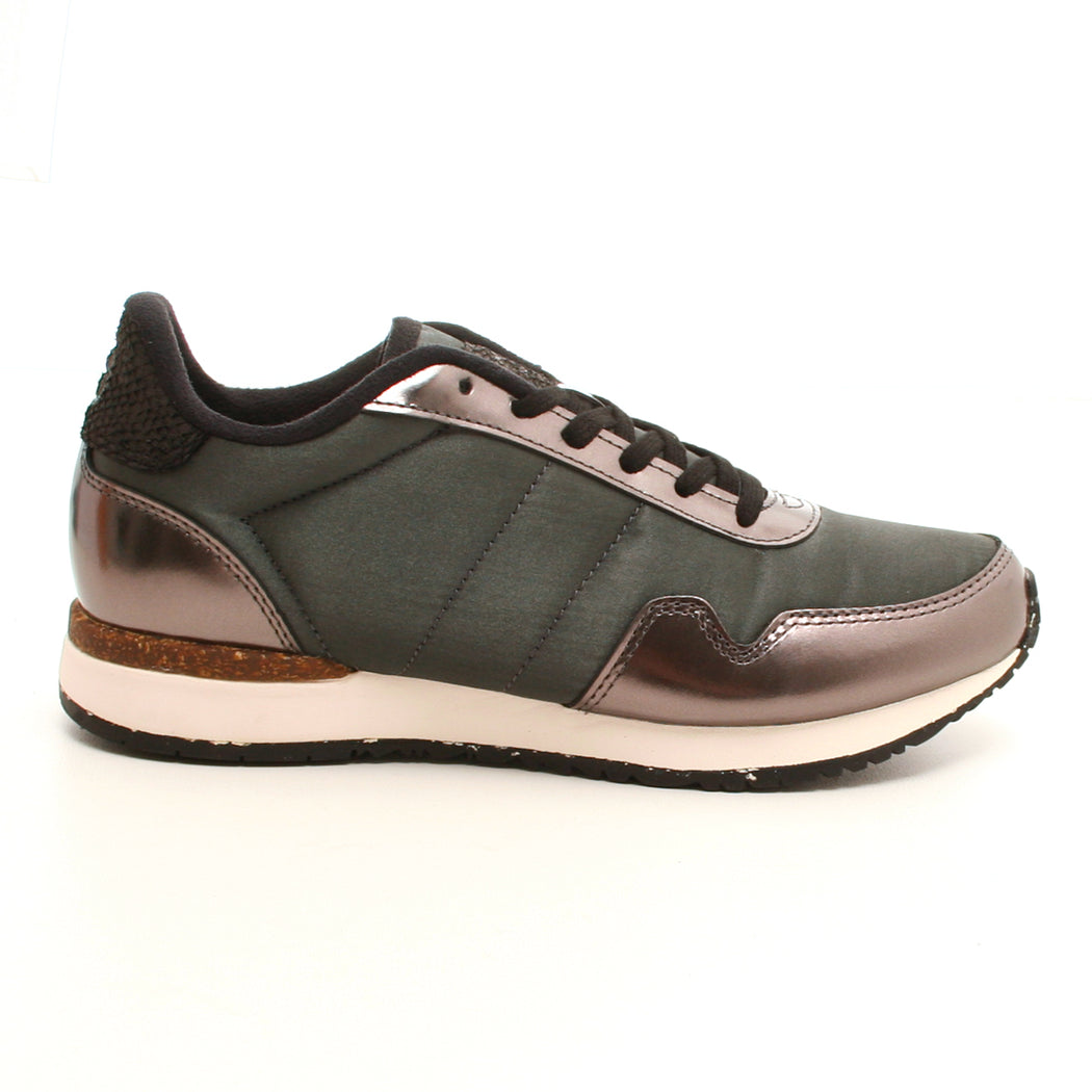 Woden WL950-047 Freya Metallic NSC sneakers grå-Woden-Hoofers - We love shoes