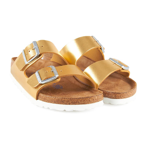 Birkenstock Arizona Metallic Gold
