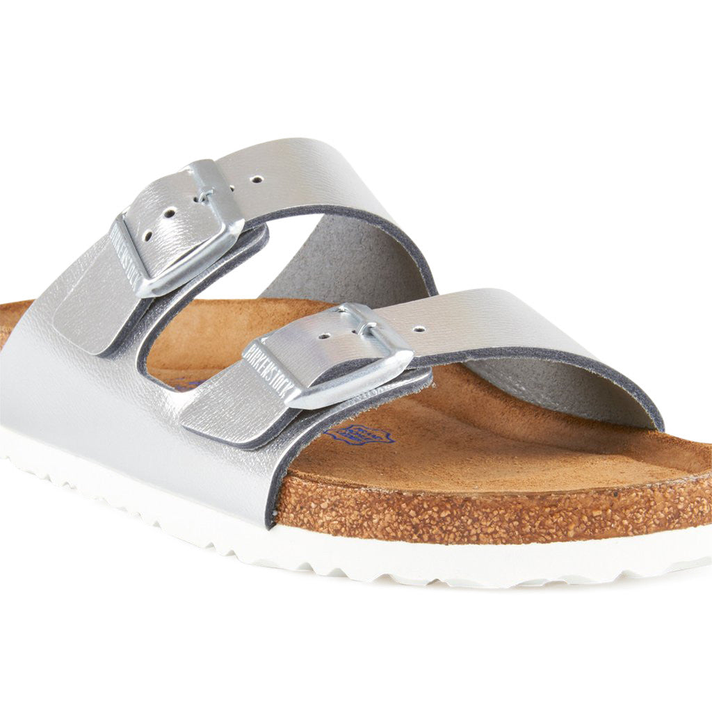 Birkenstock Arizona Metallic Silver