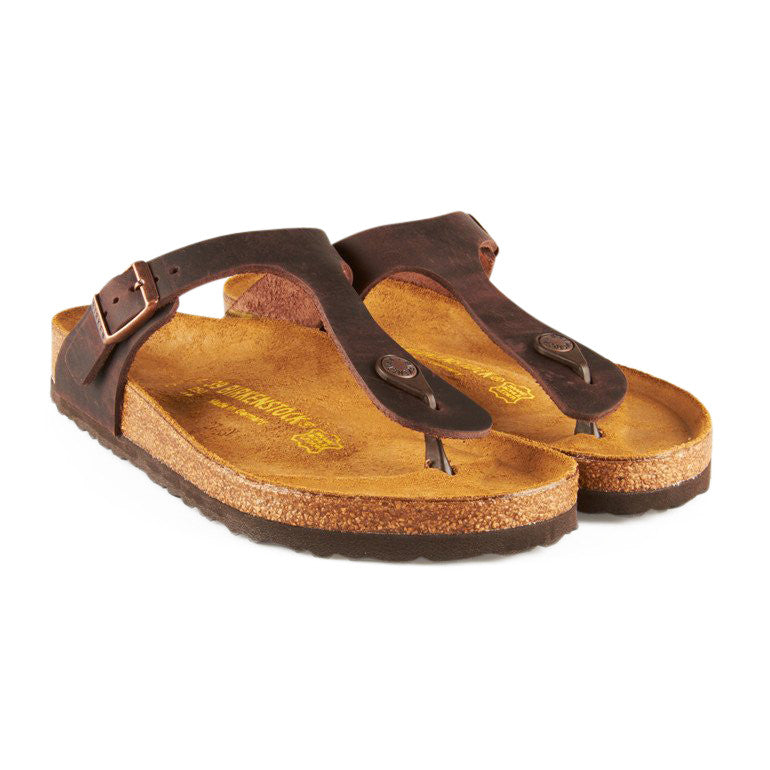 Birkenstock Gizeh sandal brun-Birkenstock-Hoofers - We love shoes
