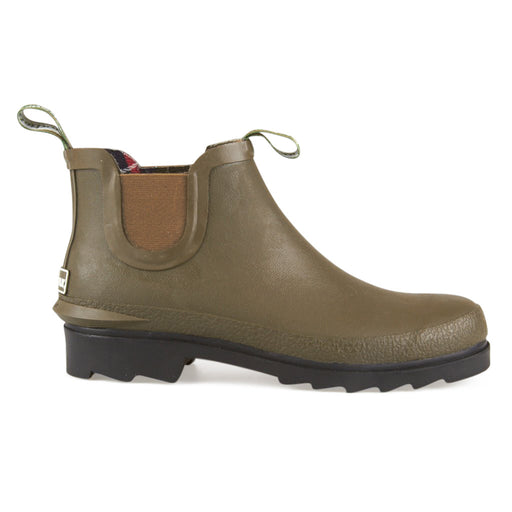 Barbour Chelsea gummistøvle oliven-Barbour-Hoofers - We love shoes