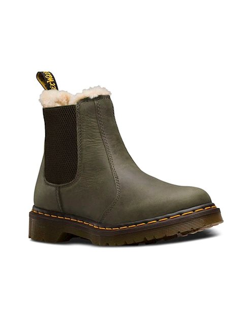 Dr. Martens 24988355 støvle olive-Dr. Martens-Hoofers - We love shoes