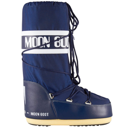Moon Boot Nylon støvle blå-Moon Boot-Hoofers - We love shoes