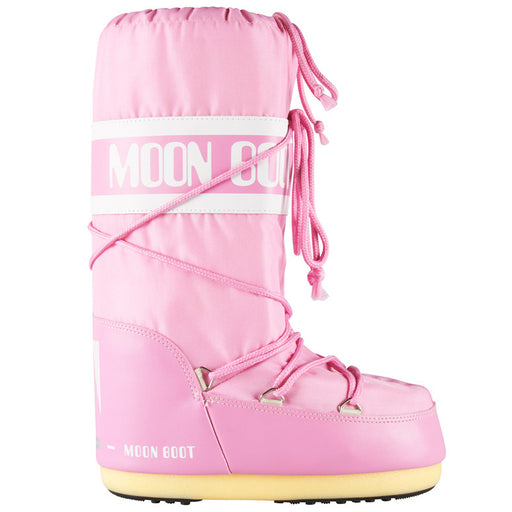 Moon Boot Nylon støvle pink-Moon Boot-Hoofers - We love shoes