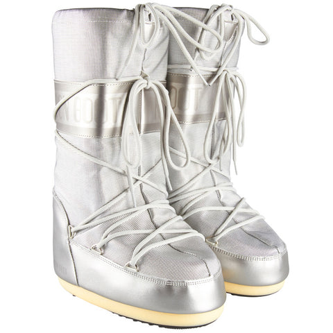 Moon Boot Pixie Silver